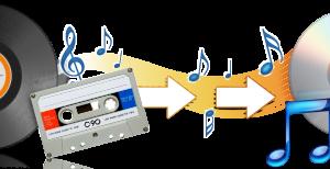 Presnimavanje sa audio kaseta i gramofonskih ploča na cd